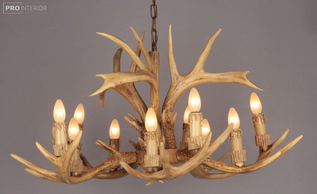 дерев'яні світильники