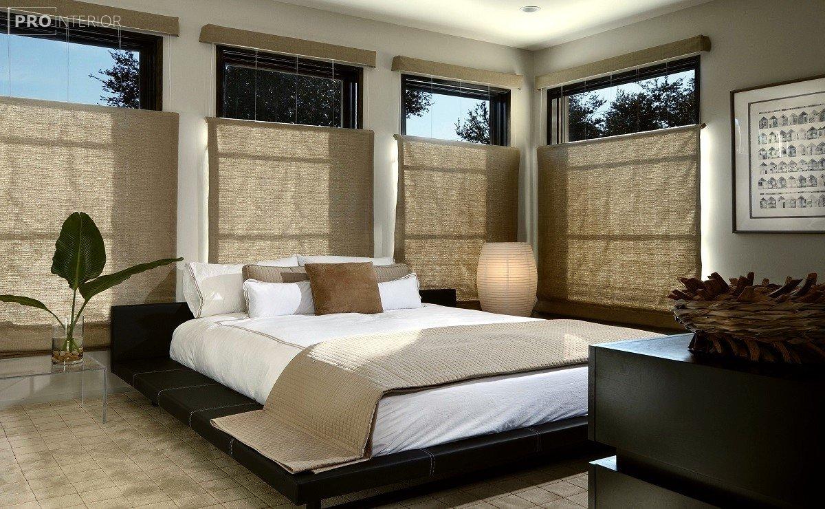 спальня в стилі дзен